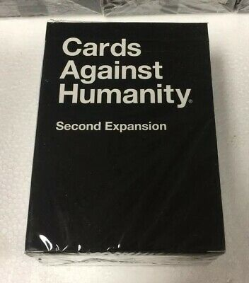 NEW Cards Against Humanity Second Expansion - Sealed