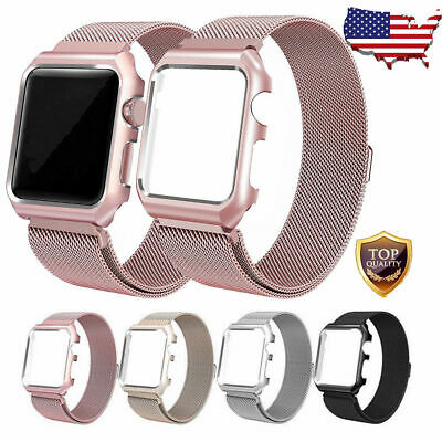 For Apple Watch Series 321 Milanese Stainless Steel Watch Band Strap 38mm42mm