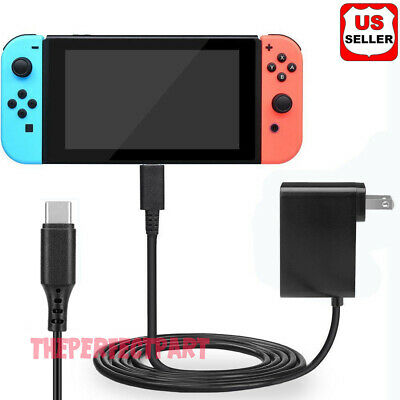 AC Adapter Power Supply Wall Travel Charger For Nintendo Switch 110V-245V 2-4A