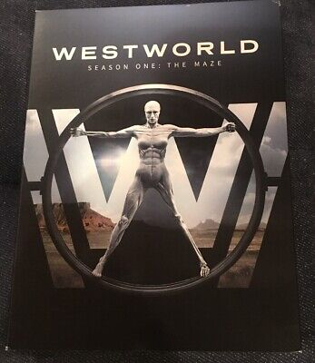 Westworld The Complete First Season One DVD 2017 viewed once excellent cond-