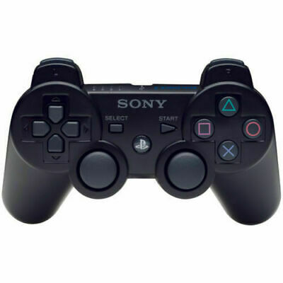 Official Genuine Sony Playstation PS3 Wireless Dualshock 3 Controller BLACK