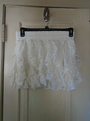 Wet Seal Juniors Lace Skirt Size Large