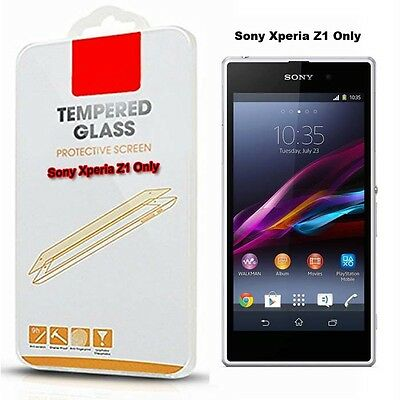 Tempered Glass Mobile Phone Screen Protector For Sony Xperia Z1