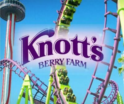 5 Knotts Berry Farm General Admission Tickets