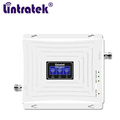 Lintratek 2G3G4G Cellular Signal Amplifier 900 1800 2100 Mobile Phone Repeater
