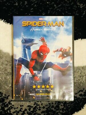 SPIDERMAN HOMECOMING DVD 2017   Bran New - Sealed w Free Shipping