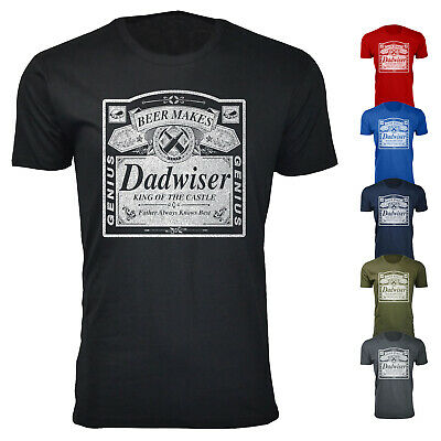 Mens Dadwiser Fathers Day T-shirts