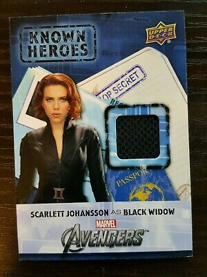 Captain America Civil War Known Heroes  Black Widow  Scarlett Johansson KHBW