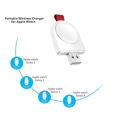 Magnetic Wireless Portable Charger Adapter For Apple Watch Series 123456SE