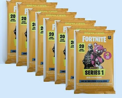 2019 PANINI FORTNITE SERIES 1 TRADING CARDS-VALUE PACK 176 CARDS 8 PACKS x 22