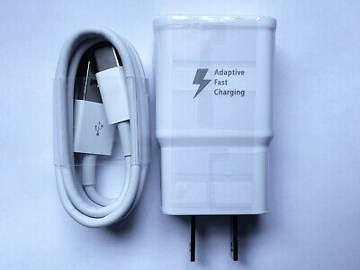 Adaptive Fast Charging Type C Cable - Wall Charger Adapter USB-C Cord 9V 1-67A