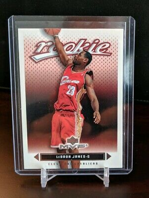 2003-04 Upper Deck 201 MVP LEBRON JAMES RC Rookie Card CLEVELAND CAVALIERS Qty
