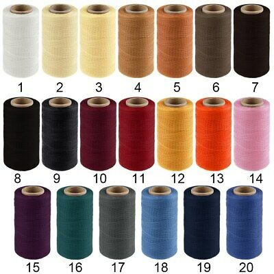 260M 150D 1MM Leather Sewing Waxed Wax Thread Hand DIY Stitching Cord Craft XX