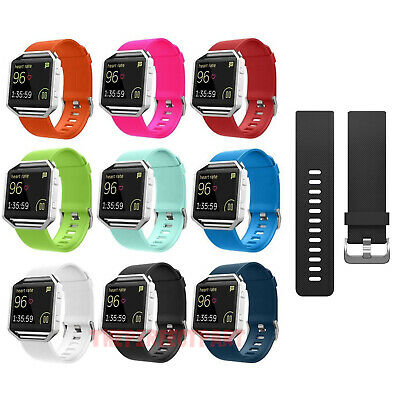 Replacement Silicone Rubber Band Strap Wristband Bracelet For Fitbit Blaze New