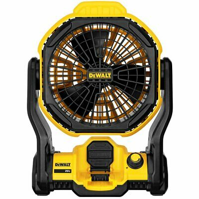 DeWALT DCE511B 20-Volt MAX 11-Inch Durable CordlessCorded Jobsite Fan