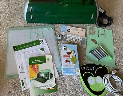 Cricut Expression Machine  with toolsaccessories and 2 cartridges