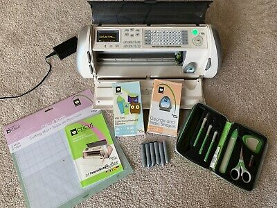Cricut Expression Machine with tools and 2 cartridges