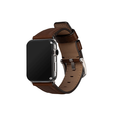 SENA Deen Leather 42mm  44mm Apple Watch Band Saddle - SXD01306NPUS