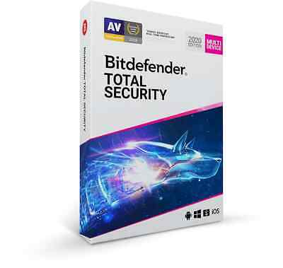 Bitdefender Total Security  5 Devices - 1 Year 2 Year 3 Year 4 Year 5 Year