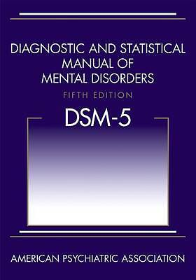 Brand NewDSM-5 Diagnostic and Statistical Manual of Mental Disorders 5th ed-