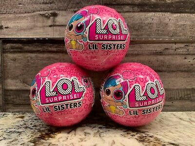 L-O-L- Surprise Eye Spy Lil Sisters Doll Ball Wave 2 Series