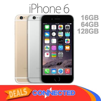 NEW APPLE iPhone 6 16GB 64GB 128GB Smartphone 100 Unlocked 4G GSM LTE Warranty