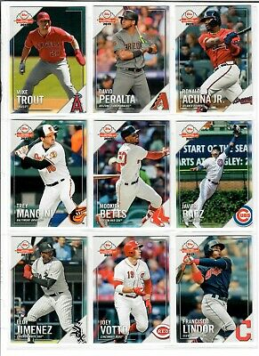 2019 Topps National Baseball Card Day 1-30 Pick TROUT ALONSO ACUNA ELOY HARPER -