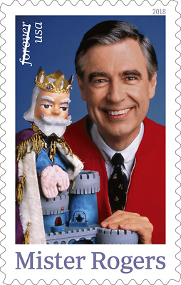 2018 50c Mister Fred McFeely Rogers Television Scott 5275 Mint FVF NH