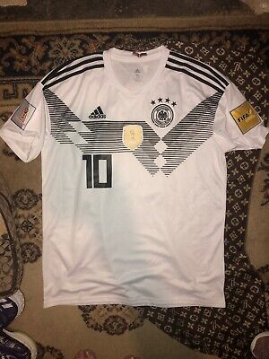 ADIDAS MESUT OZIL 10 GERMANY HOME JERSEY WORLD CUP 2018 PATCHES XL EXTRA LARGE