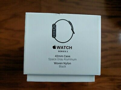 APPLE IWATCH SERIES 2 EMPTY BOX 42MM Rose Gold Aluminum Sport Band Pink Sand
