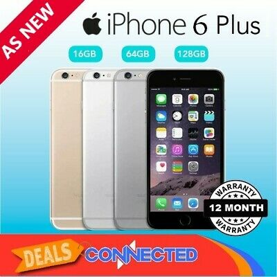 Apple iPhone 6 Plus 16GB 64GB 128GB Smartphone 4G Unlocked