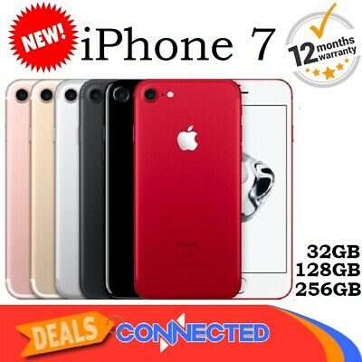 New Apple iPhone 7 32GB 128GB 256GB Unlocked 4G Smartphone