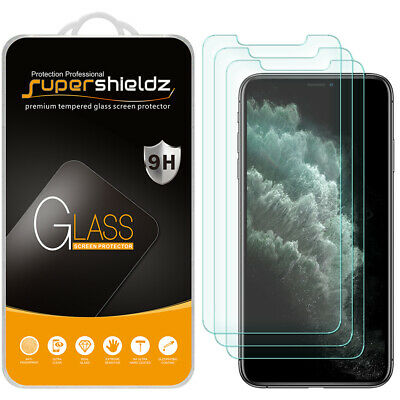 3X Supershieldz Tempered Glass Screen Protector for iPhone 11 Pro Max 6-5