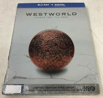 Westworld Season Two The Door Blu-ray - Digital Limited Edition Steelbook DENT