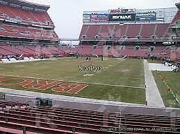2 Cleveland Browns Los Angeles Rams LOWER DAWG POUND Tickets Prime Time