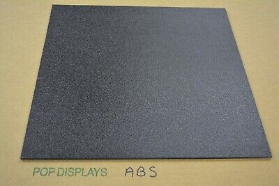 Abs Plastic Sheet 116 Black CHOOSE A SIZE