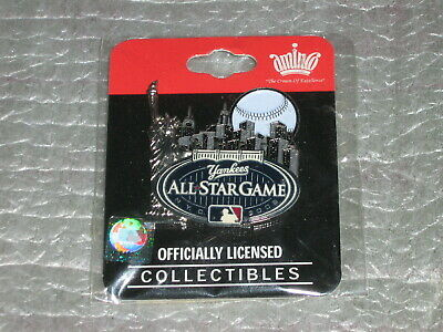 NEW 2008 ALL STAR GAME NYC NY YANKEES CITY SKYLINE PIN Baseball Statue Liberty