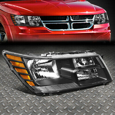 FOR 09-20 DODGE JOURNEY RH RIGHT BLACK HOUSING OE STYLE HEADLIGHT LAMP CH2503222