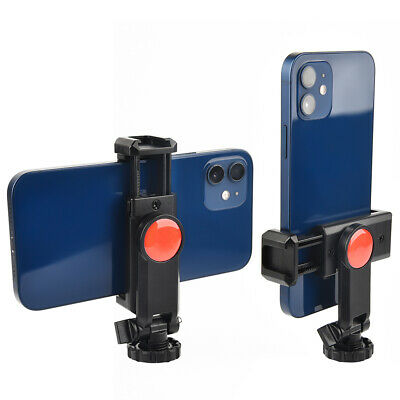 Ulanzi ST-06 360° Rotation Phone Clip Holder Mount with Cold Shoe Camera Adapter