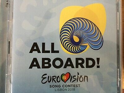 EUROVISION SONG CONTEST - Lisbon 2018 2 x CD Universal Excellent Cond 2CD