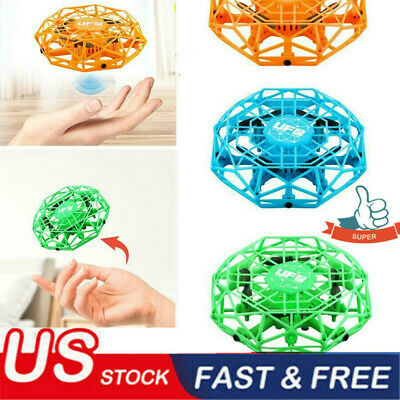 Mini Drones 360° Rotating Smart Mini UFO Drone for Kids Flying Toys Xmas Toy USA