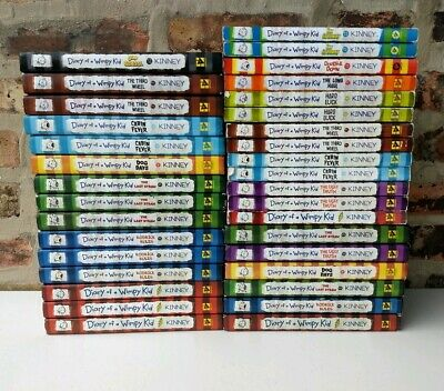 Build a Book Lot Diary of a Wimpy Kid Jeff Kinney CHOOSE TITLES FREE SHIP