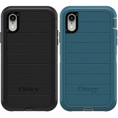 New Authentic OtterBox Defender PRO Series For iPhone XR Case No Clip