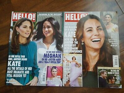 Hello UK Magazine 16031605-KATE MIDDLETONMeghan MarkleRenee Zellwegerharry