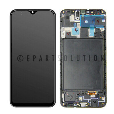 Samsung Galaxy A20 SM-A205U LCD Display Touch Screen Digitizer - Frame Assembly
