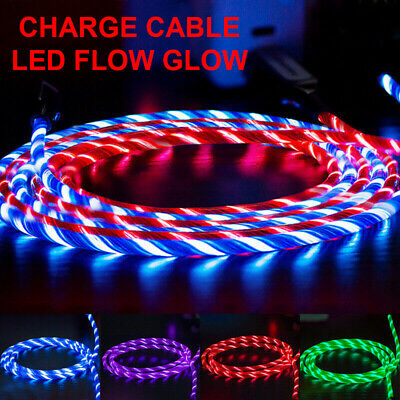 LED Fast Charging USB Charger Cable For iPhone 1211 - ProXS MaxXRX87 8 PIN