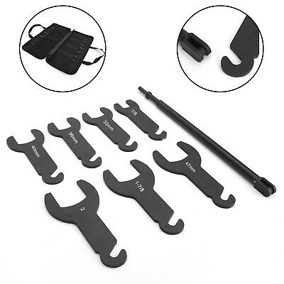 43300 Pneumatic Fan Clutch Wrench Set For Ford GM Chrysler Black
