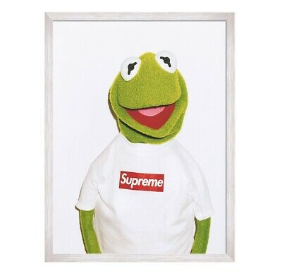 Supreme Kermit Poster - Matte - 18x24 inches - Huge and HQ print - FREE SHIP