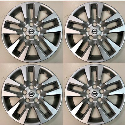 4 NEW 16 Silver Hubcap Wheelcover that FITS 2013-2017 Nissan SENTRA hub cap