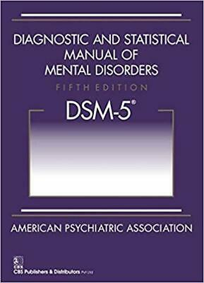 Diagnostic and Statistical Manual of Mental Disorders 5th Ed DSM-5 Paperback